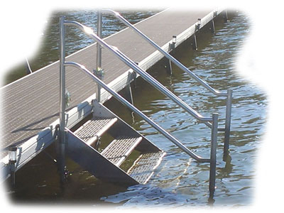Dock And Pontoon Boat Ladders