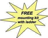 free mounting kit with ladder